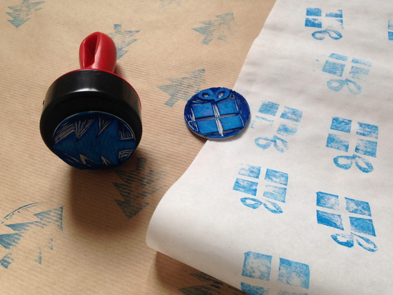 Świąteczne DIY – stemple i zdobienie papieru