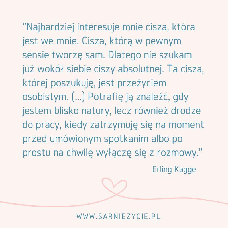 cytat z książki Cisza Erling Kagge