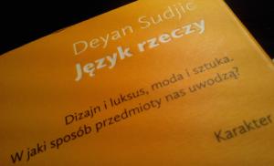 język rzeczy książka