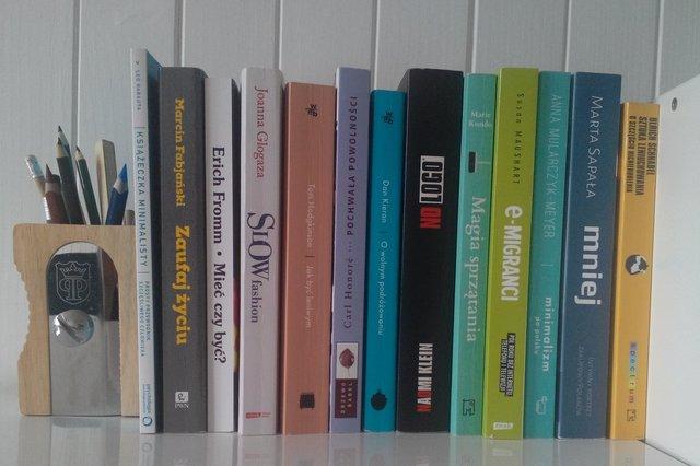 Minimalizm i slow life w literaturze - książki związane z aktualnym obszarem zainteresowań to dla mnie osobna kategoria