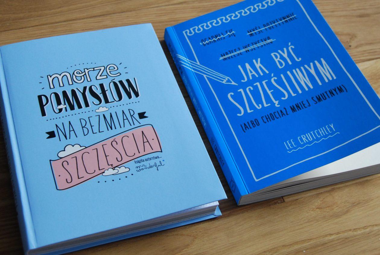 Szczęście w kolorze blue – dwie książki o tym, jak być szczęśliwym