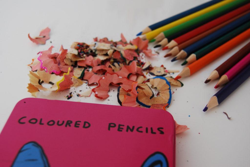 Ostrzenie ołówków wspomaga skupienie i uważność.