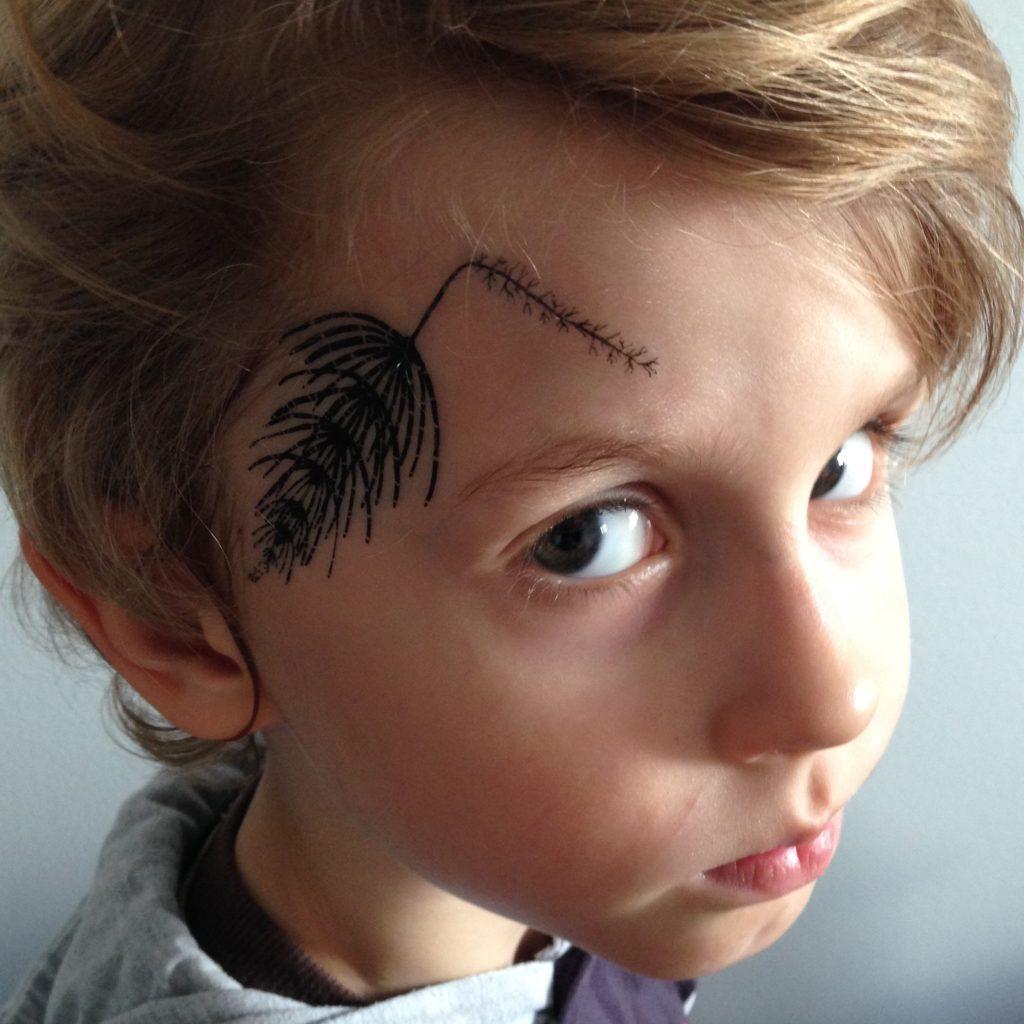 tatuaż tymczasowy