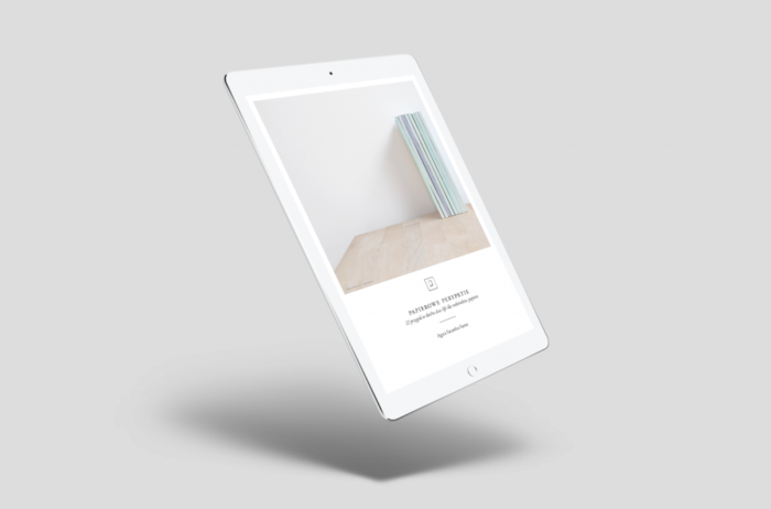 ebook papierowe perypetie PDF na tablecie