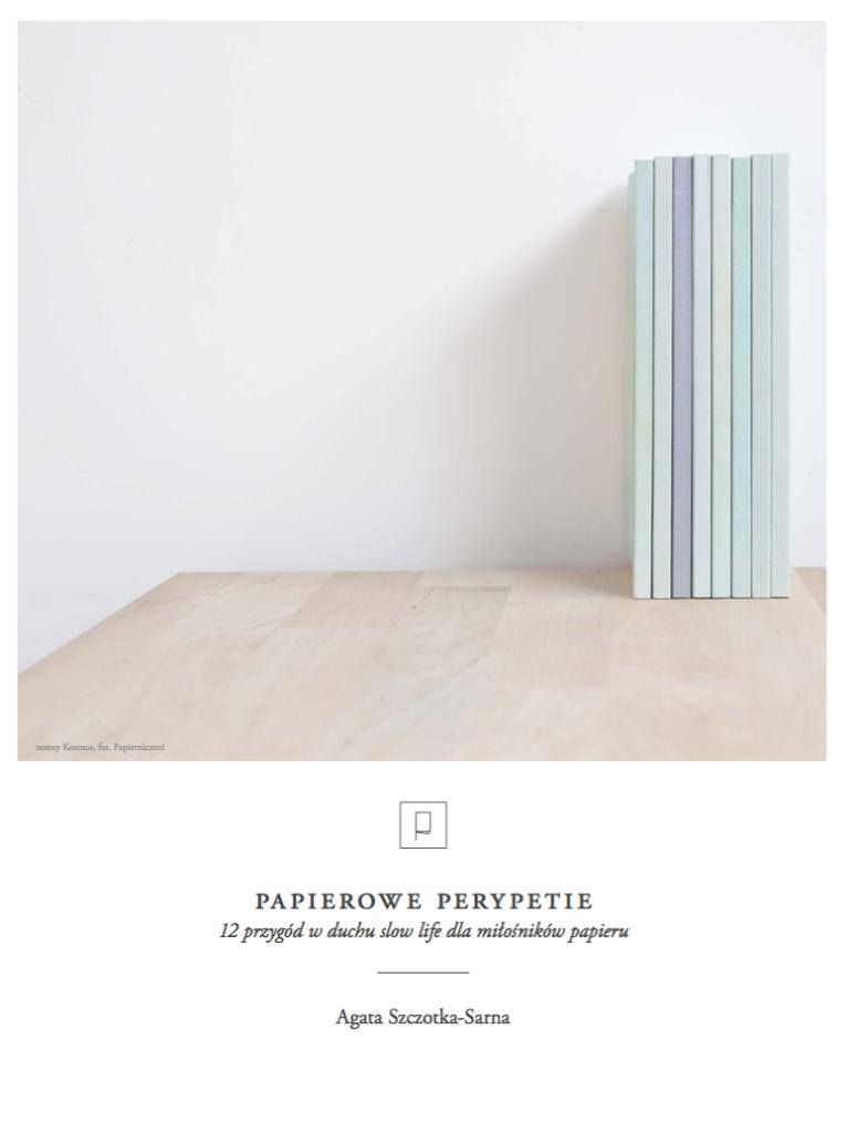 ebook papierowe perypetie - okładka