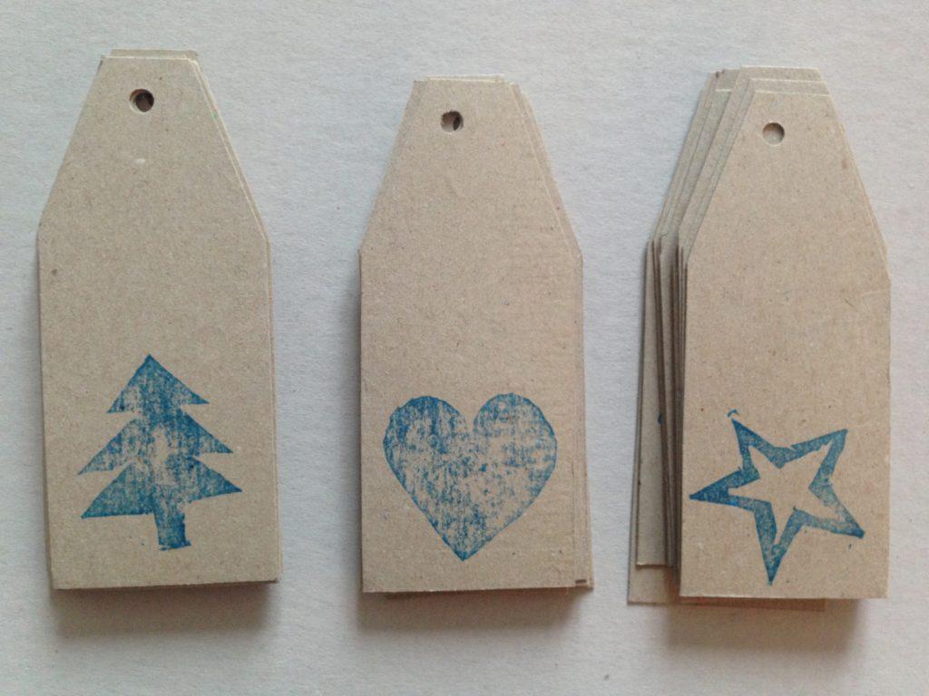 świąteczne DIY - tagi do oznaczania prezentów