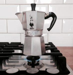 idealna kawa z kawiarki