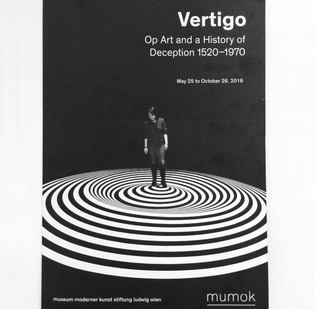 okładka broszury wystawy vertigo
